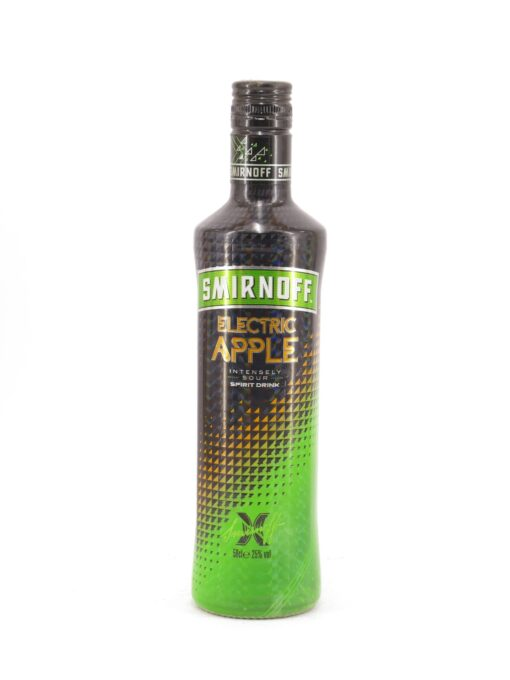 Smirnoff Electric Apple Vodka 0.7L