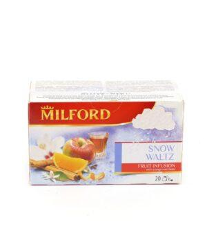 Milford snow waltz