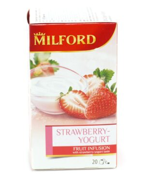 Milford strawberry yogurt