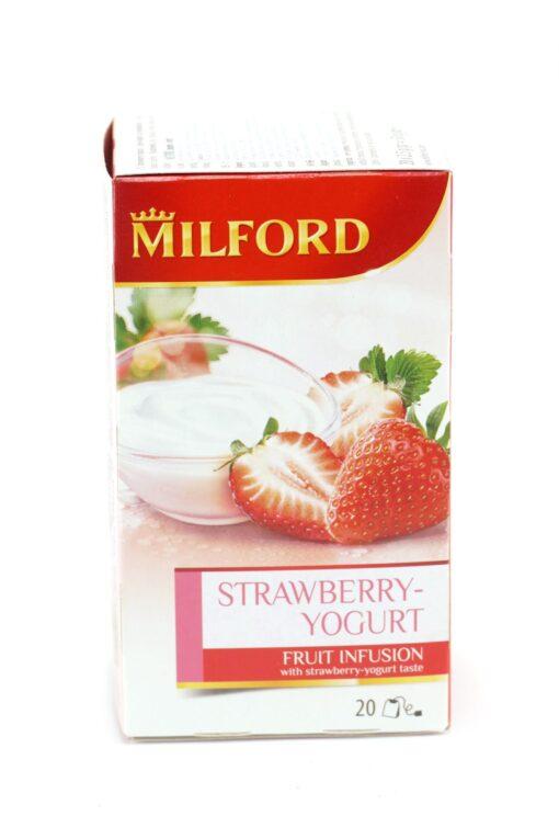 Milford strawberry yogurt