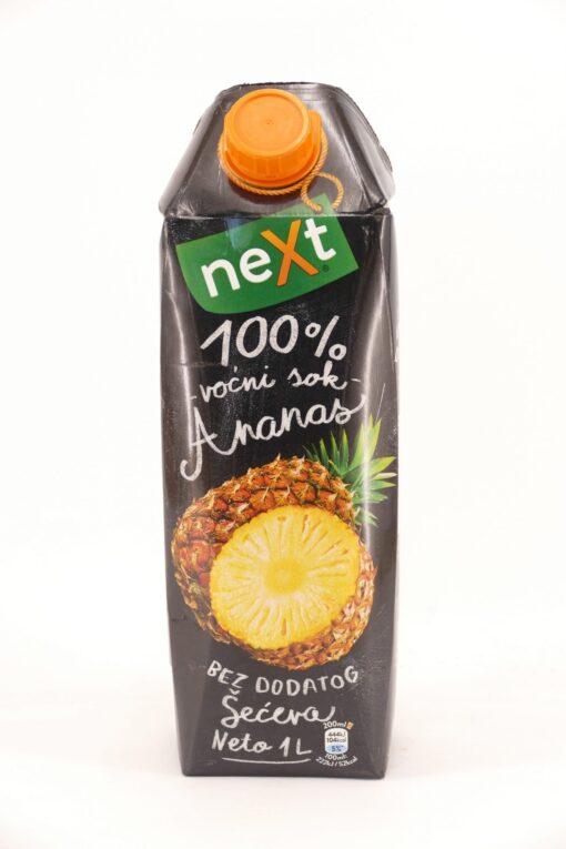 Next Premium Ananas 1L, paket od 12 komada